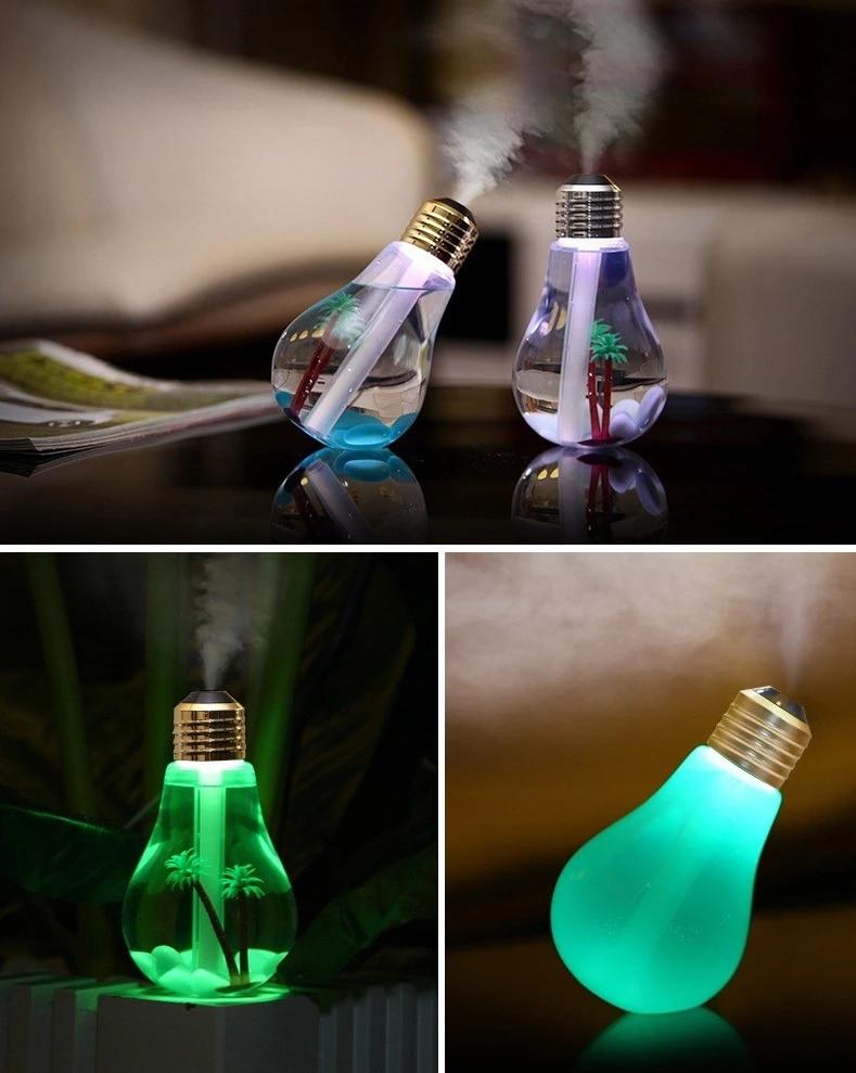 Ультразвуковой увлажнитель lovepro лампа