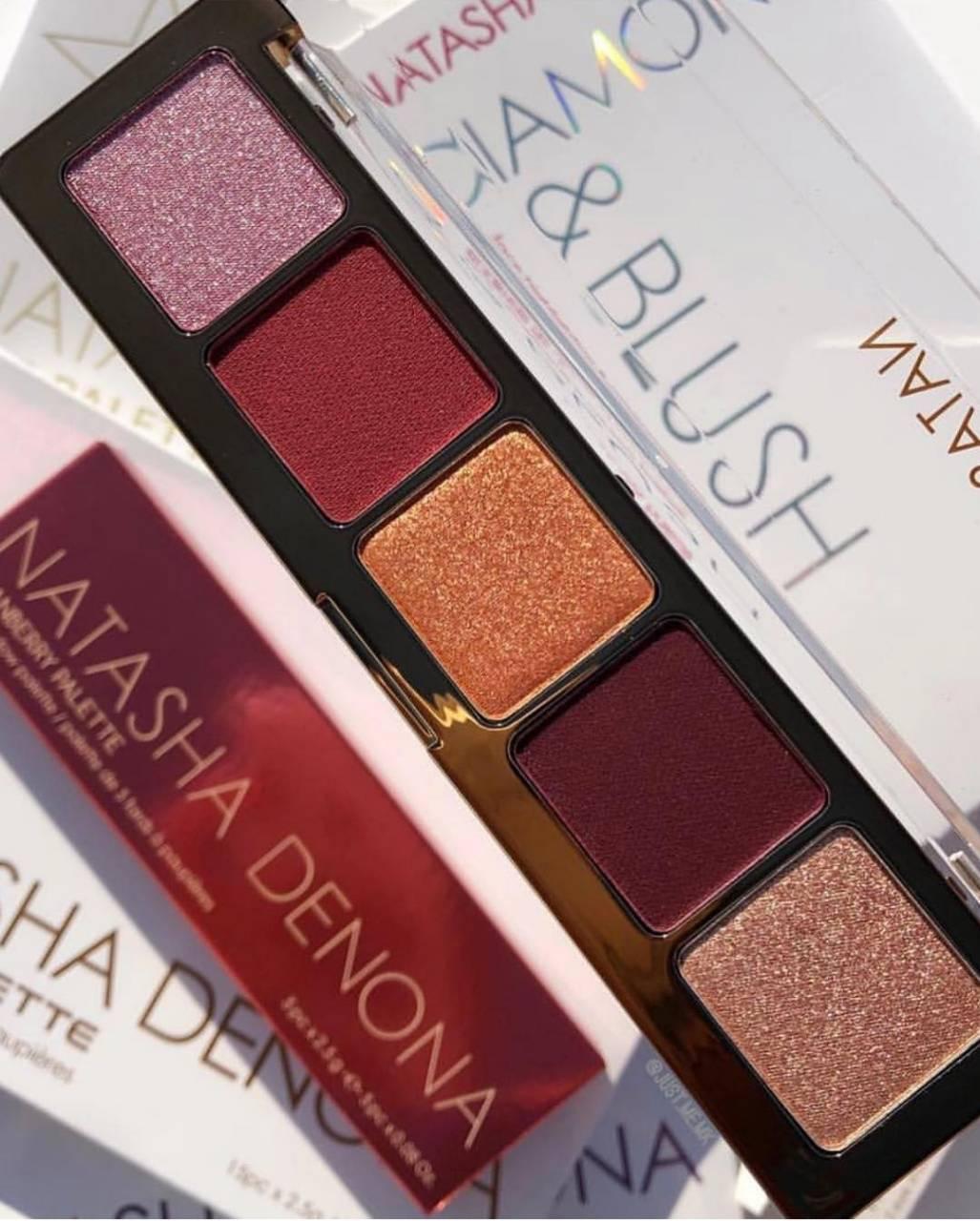Палетка теней Natasha Denona  Cranberry Eyeshadow Palette