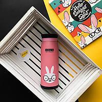 Бутылочка-термос с рисунком 0,5 л (кролик), фото 1