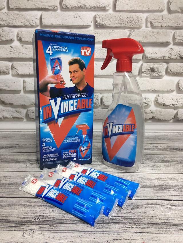 Инновационное чистящее средство Vclean Spot в стиках 260 г (4 штуки), бутылка