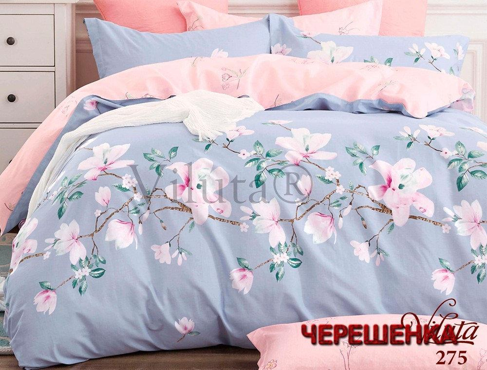 """Двуспальный набор постельного белья 180*220 из Бязи """"Gold"""" №15980AB Черешенка™"""