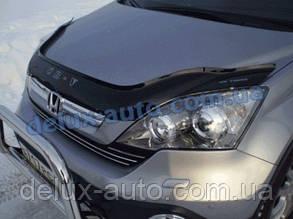 Мухобойка на капот HONDA CR-V 2009-2012 Дефлектор капота на Хонда СР-В 2009-2012