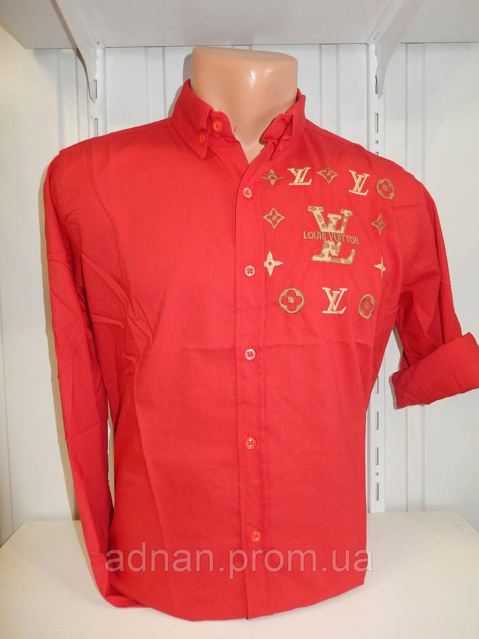 Рубашка мужская, рукав трансформер, узор, стрейч 004\ купить рубашку