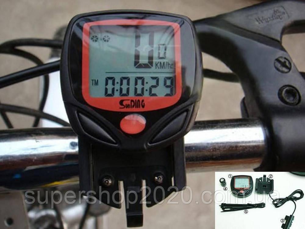 Велокомп'ютер, спідометр, одометр SB318