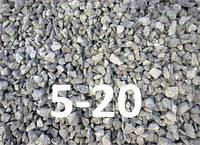 Щебень гранитный фракция 5-20 от 30т