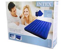 Надувная кровать матрас Queen Classic INTEX