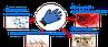Перчатка для вычесывания шерсти у животных TRUE TOUCH, фото 7