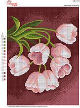 Вышивка бисером Весняні тюльпани №153