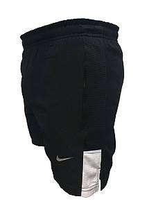 Мужские черные короткие шорты для плавания стрейч (Реплика)