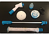 Электрическая щетка с насадками для уборки | Електрична щітка з насадками  для прибирання Spin Scrubber, фото 4