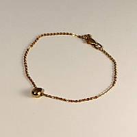 Золотий браслет без вставок