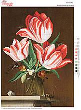Вышивка бисером Попугайні тюльпани №162
