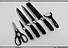 Набор кухонных ножей из нержавеющей стали в составе 6 предметов Non-stick, фото 3