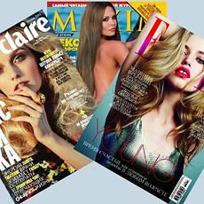 Журнали, газети