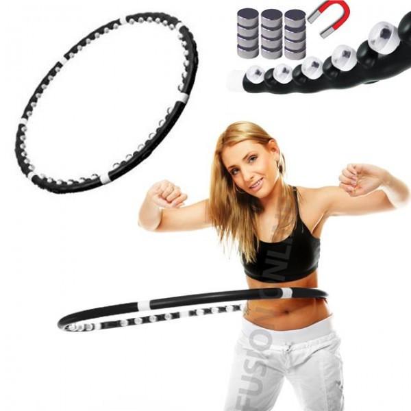 Массажный спортивный обруч для похудения Hula Hoop Professional | Хула Хуп