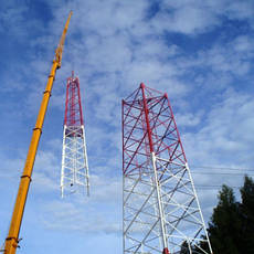 Строительство объектов связи