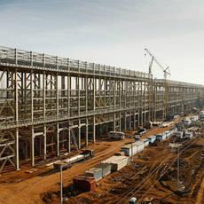 Строительство заводов и фабрик