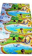 Детский коврик Киндер пол , Мадагаскар, теплый 2*1,2 м