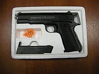 Пістолет Colt 1911 металевий ZM 19 (масштабна копія 1:1 кольт 1911-A1)