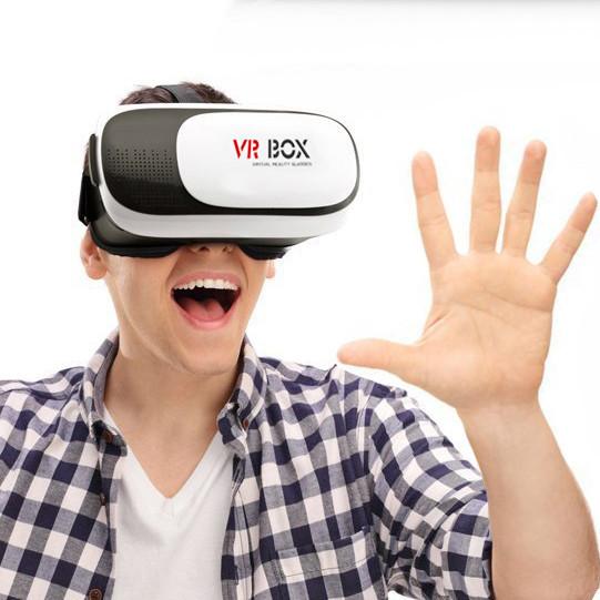 Окуляри віртуальної реальності з пультом для смартфона VR BOX 2.0