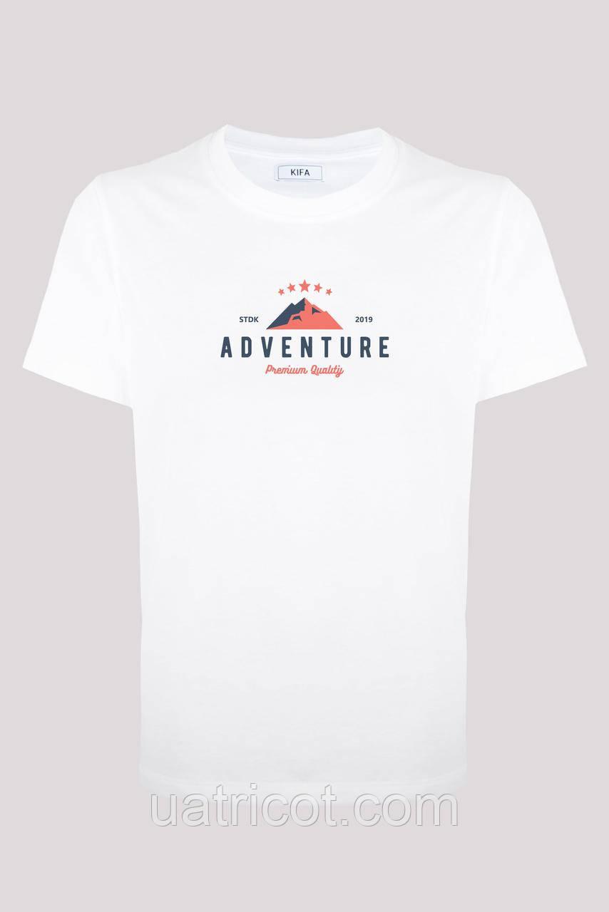 Футболка мужская ФМХ-017/69 Adventure белая