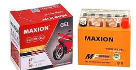 Мото аккумулятор MOTO YB 14L-A2 MAXION(12V, 14A)