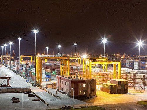 СО Т400 освещение порта