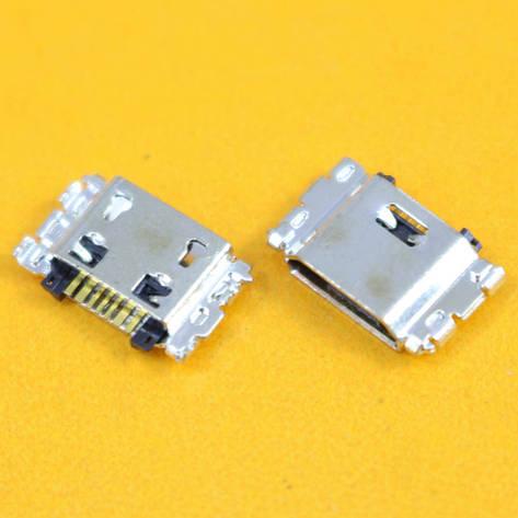 MicroUSB разъем гнездо 7pin MC-367 Samsung J1 J100 J5 J500 J7 J700 5 шт, фото 2