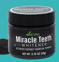 Отбеливатель зубов Miracle Teeth Whitener | черная зубная паста/засіб для відбілювання зубів