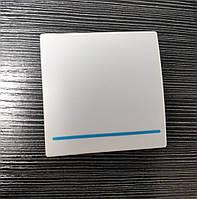 Беспроводной дистанционный выключатель света одноклавишный белый