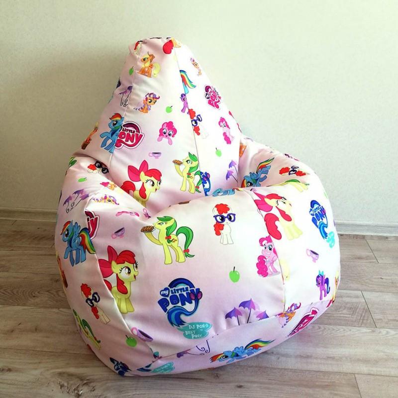 """Кресло-мешок KatyPuf """"My Little Pony"""" Коттон"""
