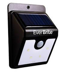 Світильник вуличний на сонячній батареї з датчиком руху EVERBRITE