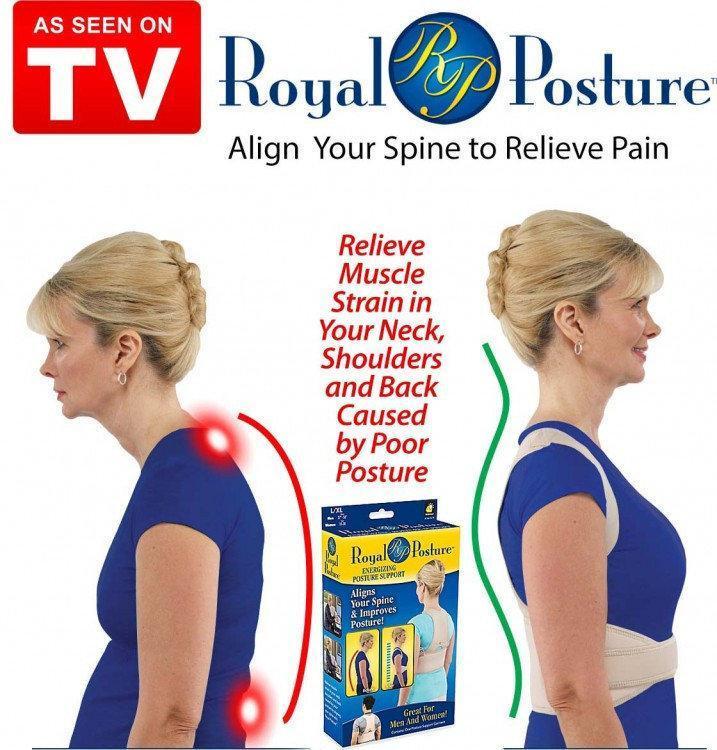 Женский магнитный корсет | Корректор осанки Royal posture womanс (Реплика)