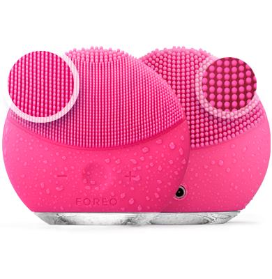 Массажер для очистки кожи лица |  Масажер для очищення шкіри обличчя Foreo LUNA Mini 2, Тёмно - розовый