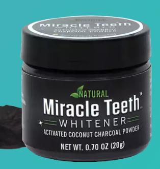 Зубной порошок для отбеливания зубов Miracle Teeth Whitener (Реплика)