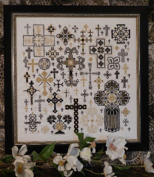 Схема для вишивки Rosewood Manor Crosses of the Kingdom / Хрести королівства