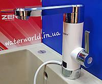 Электрический кран-водонагреватель проточного типа  Zerix ELW-30-E