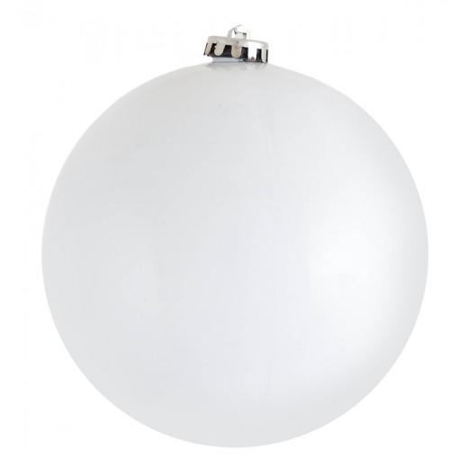 Куля d-15 см   білий ,   глянець