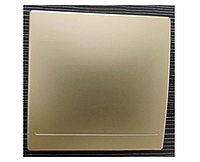 Беспроводной дистанционный выключатель света одноклавишный золотой