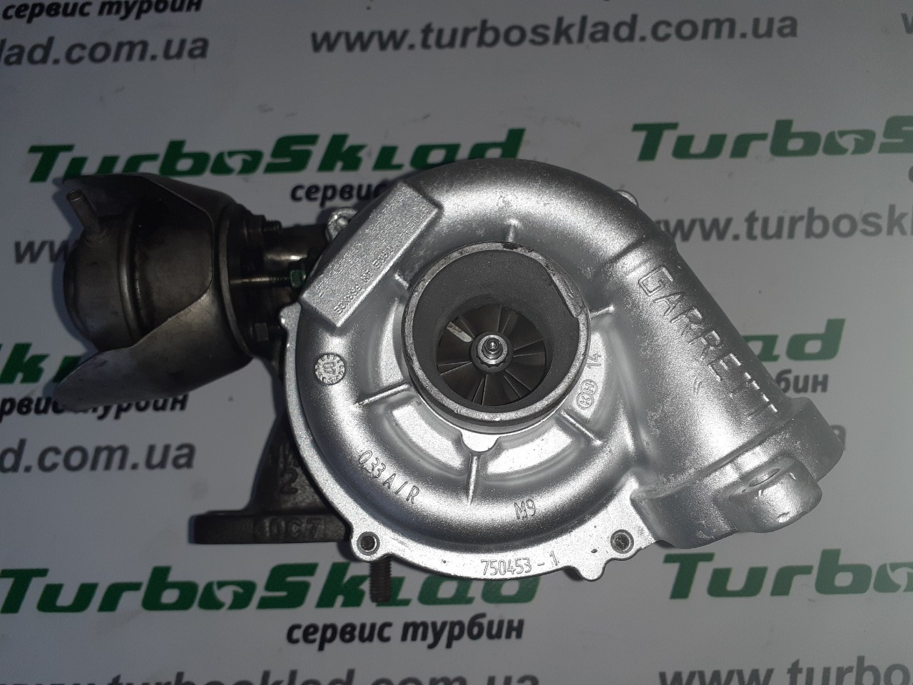 Турбина Citroen C (2,3,4,5, Berlingo) 1.6 HDi / Ford (C-MAX, Focus), фото 1