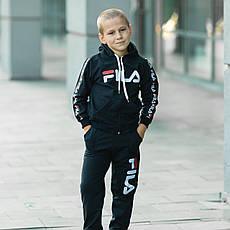 Костюм спортивний для хлопчика Filla чорний