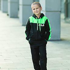 Костюм спортивний для хлопчика Filla зелений