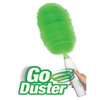 Вращающаяся электронная щетка веник от пыли | Обертається електронна щітка віник від пилу Go Duster