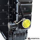 Радиатор водяной МТЗ (Д-240) 4-х рядный аллюминий | 70У-1301010 (M&Z Factory), фото 2