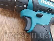 ✔️ Шуруповерт Makita DHP482 · Литий-ионный аккумулятор, фото 3