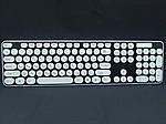 Комплект бездротова клавіатура + миша HK3960 + подарунок, фото 5