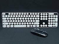 Комплект беспроводная клавиатура + мышь HK3960 + подарок