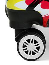 Чемодан пластиковый малый  из поликарбоната чемодан для  ручной клади Madisson с принтом , фото 2
