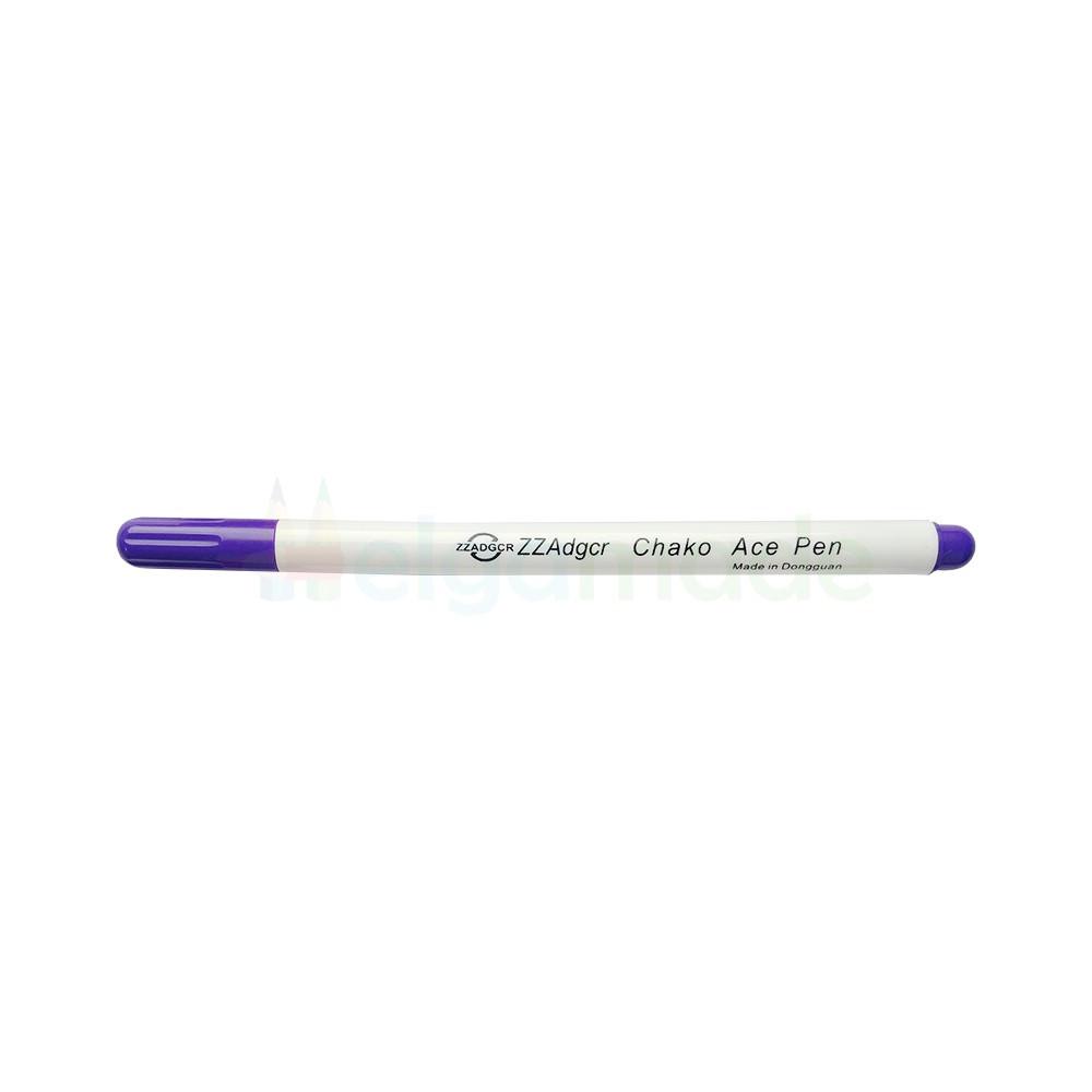 Маркер смываемый, 15 см (рисует фиолетовым)