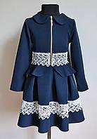 Школьный костюм для девочек 5-10лет, пиджак с юбкой школьный, фото 1